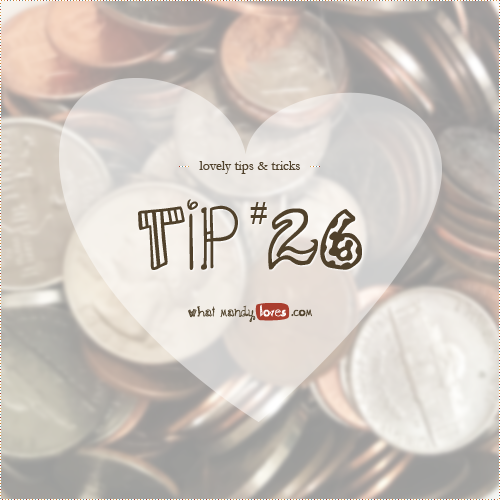 Lovely Tip #26: See Your Money Grow via www.whatmandyloves.com