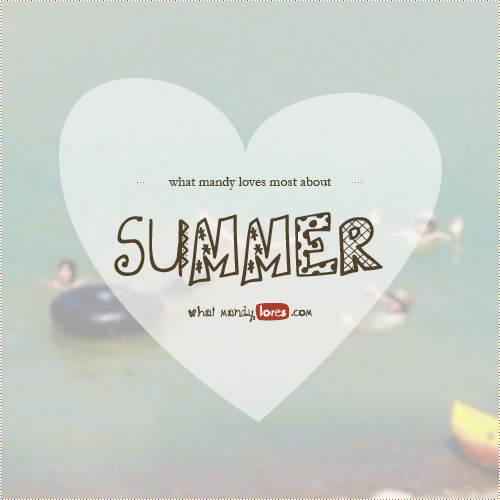 Image of my friends in a lake for list post What Mandy Loves About Summer